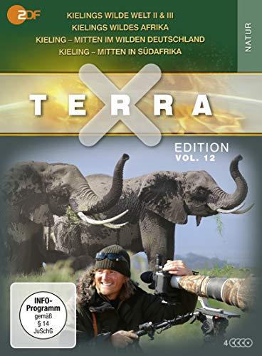 Terra X - Edition, Vol.12: Kieling - Mitten in Südafrika/...im wilden Deutschland/Wildes Afrika/Wilde Welt II & III (3 DVDs)