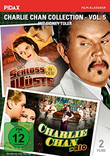 Charlie Chan Collection, Vol. 5: Charlie Chan in Rio + Das Schloss in der Wüste