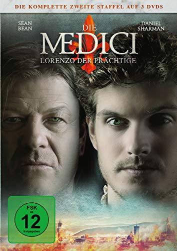 Die Medici Staffel 2: Lorenzo der Prächtige (3 DVDs)