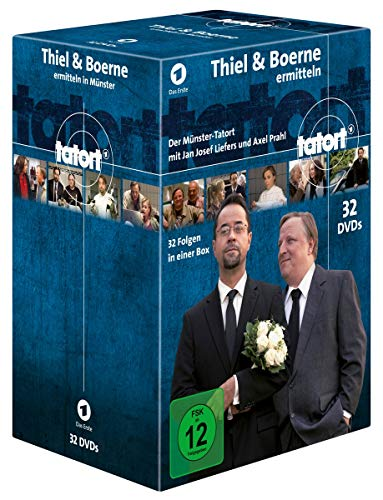 Tatort Münster - Thiel und Boerne ermitteln: Fall 1-32 (32 DVDs)