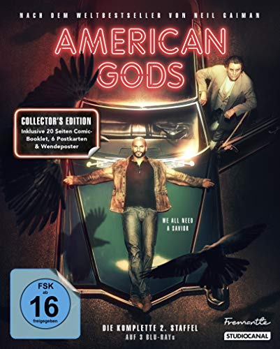 American Gods Staffel 2 (Collector's Edition) [Blu-ray]