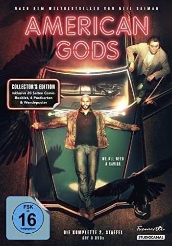 American Gods Staffel 2 (Collector's Edition) (4 DVDs)