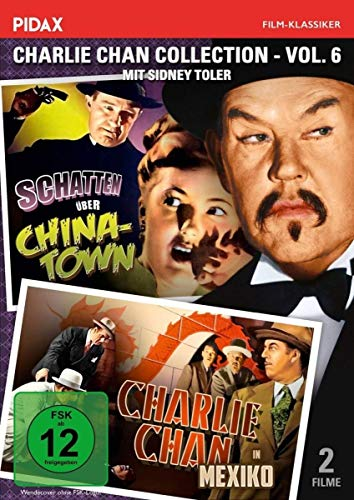 Charlie Chan Collection, Vol. 6: Charlie Chan in Mexiko + Schatten über Chinatown