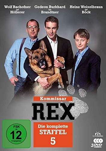 Kommissar Rex Staffel 5 (3 DVDs)