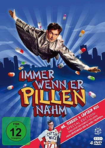 Mr. Terrific/Immer, wenn er Pillen nahm - Special Edition inkl. Das Geheimnis der blauen Tropfen (4 DVDs)