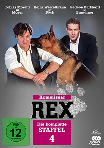 Kommissar Rex Staffel 4 (3 DVDs)