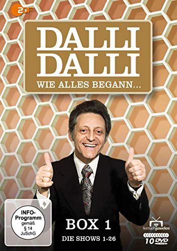 Dalli Dalli Wie alles begann: Box 1 (Shows 1-26) (10 DVDs)