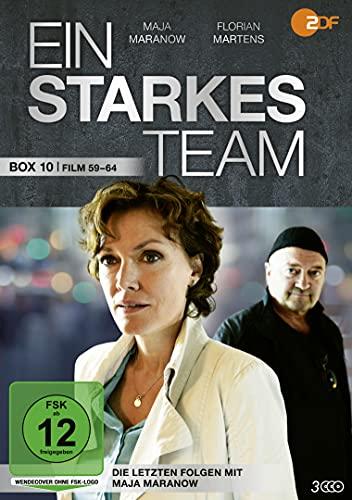 Ein starkes Team Box 10 (Film 59-64, die letzten Folgen mit Maja Maranow) (3 DVDs)