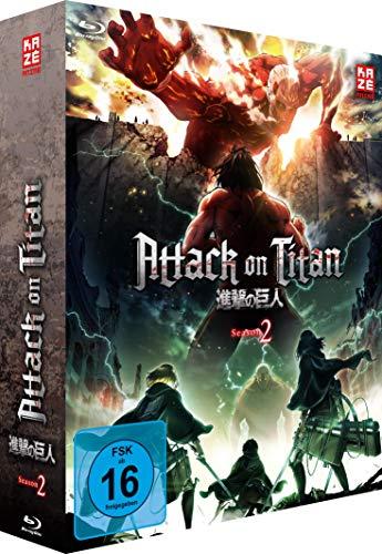 Attack on Titan Staffel 2, Vol. 1 (Limited Editon mit Sammelschuber) [Blu-ray]