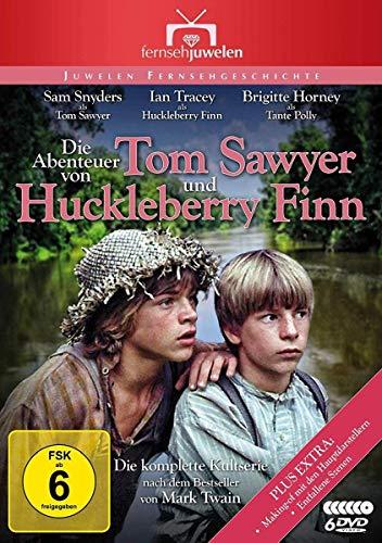 Die Abenteuer von Tom Sawyer und Huckleberry Finn Die komplette Serie (6 DVDs)