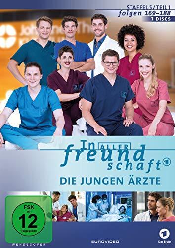 In aller Freundschaft - Die jungen Ärzte: Staffel 5.1 (7 DVDs)
