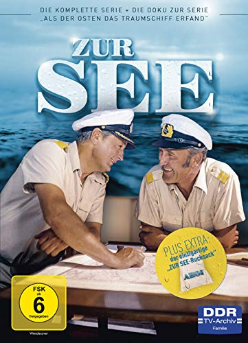 Zur See Die komplette Serie (inkl. Bonus-DVD und Seesack) (4 DVDs)