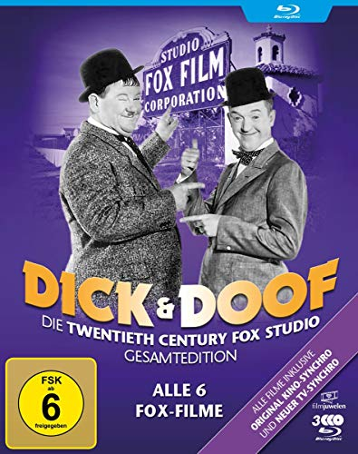 Dick & Doof Die Fox-Studio-Gesamtedition [Blu-ray]