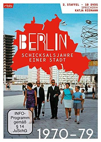Berlin - Schicksalsjahre einer Stadt: Staffel 2 (1970-1979) (10 DVDs)