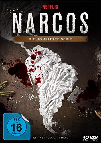 Narcos Die komplette Serie (12 DVDs)