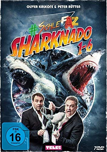 #SchleFaZ Sharknado 1-6 (7 DVDs)