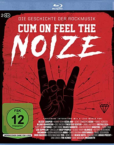 Cum On Feel The Noize Die Geschichte der Rockmusik [Blu-ray]