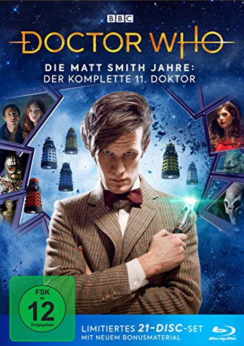 Doctor Who Die Matt Smith Jahre (Limited Edition) [Blu-ray]