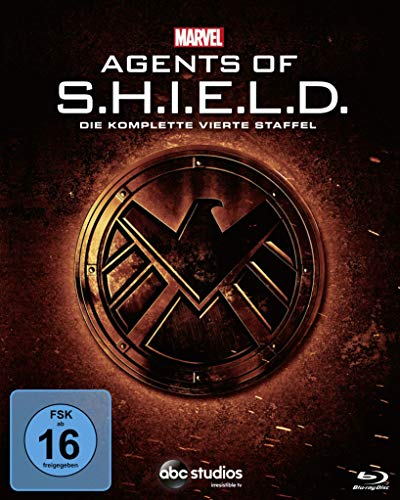 Marvel's Agents of S.H.I.E.L.D. Staffel 4 [Blu-ray]