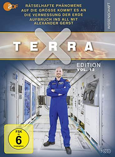 Terra X Edition, Vol.13: Rätselhafte Phänomene / Auf die Größe kommt... / Vermessung der Erde / Aufbruch ins All (3 DVDs)