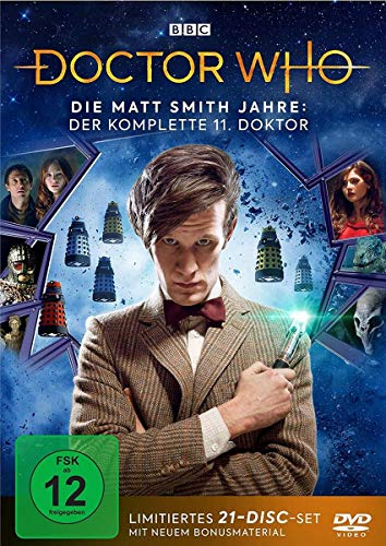 Doctor Who Die Matt Smith Jahre (Limited Edition) (21 DVDs)