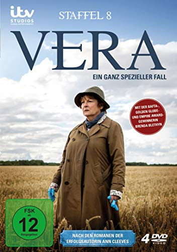 Vera - Ein ganz spezieller Fall: Staffel 8 (4 DVDs)