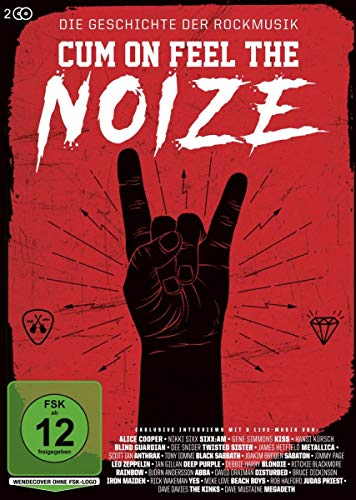 Cum On Feel The Noize Die Geschichte der Rockmusik (2 DVDs)