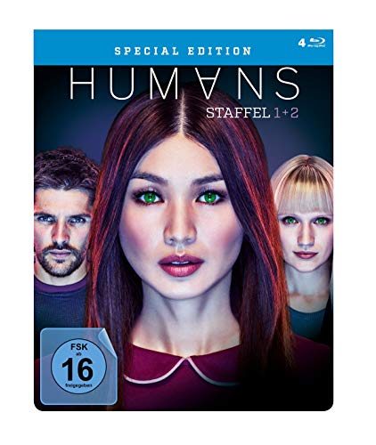 Humans Staffel 1+2 (Steel Edition) [Blu-ray]