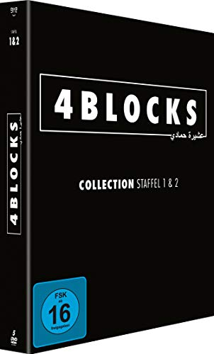 4 Blocks Staffel 1+2 (5 DVDs)