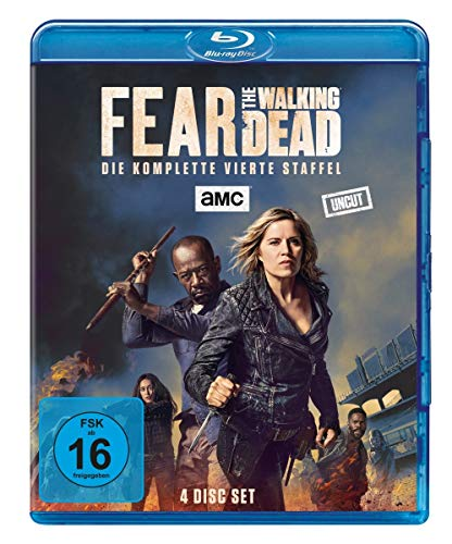Fear the Walking Dead Staffel 4 [Blu-ray]
