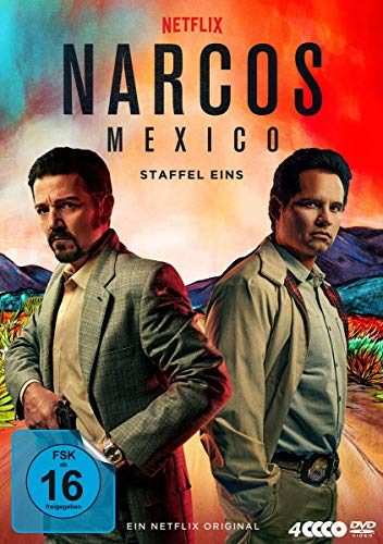 Narcos: Mexico - Staffel 1 (4 DVDs)