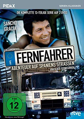 Fernfahrer - Abenteuer auf Spaniens Straßen 2 DVDs
