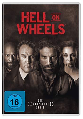 Hell on Wheels Staffel 1-5 (17 DVDs)