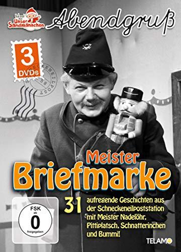 Unser Sandmännchen Abendgruß: Meister Briefmarke (3 DVDs)
