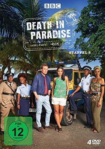 Death in Paradise Staffel 8 (4 DVDs)