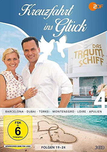 Kreuzfahrt ins Glück Box 4 (Folge 19-24) (3 DVDs)