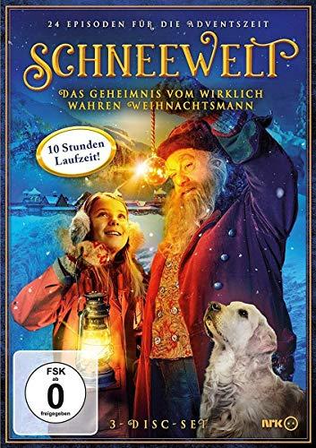 Schneewelt Das Geheimnis vom wirklich wahren Weihnachtsmann (3 DVDs)