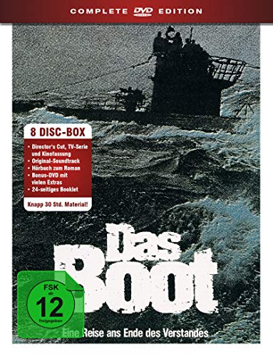 Das Boot Complete Edition (Das Original) (8 DVDs)