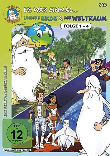 Es war einmal... unsere Erde & Der Weltraum, Folge 1-4 (2 DVDs)
