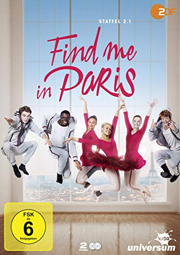Find Me in Paris Staffel 2.1 (2 DVDs)