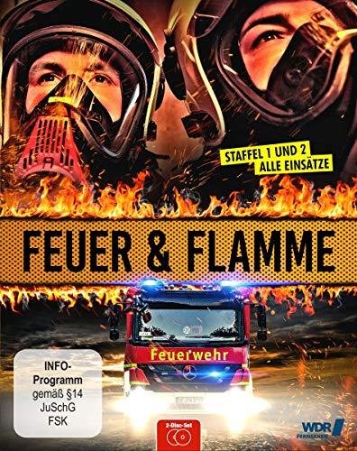 Feuer & Flamme - Mit Feuerwehrmännern im Einsatz: Staffel 1+2 [Blu-ray]