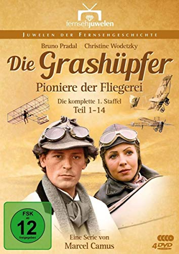 Die Grashüpfer - Pioniere der Fliegerei: Staffel 1 (4 DVDs)