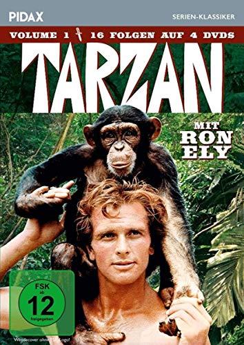 Tarzan, Vol. 1 (4 DVDs)