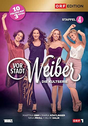 Vorstadtweiber Staffel 4 (Österreich Version) (3 DVDs)
