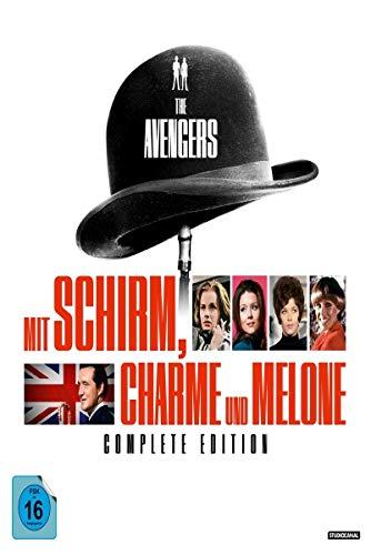 Mit Schirm, Charme und Melone Complete Edition (54 DVDs)
