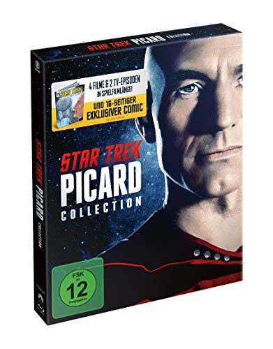 Star Trek: Picard Movie & TV Collection (Limited Special Edition inkl. Comic) [Blu-ray]
