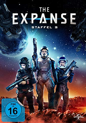 The Expanse Staffel 3 (4 DVDs)