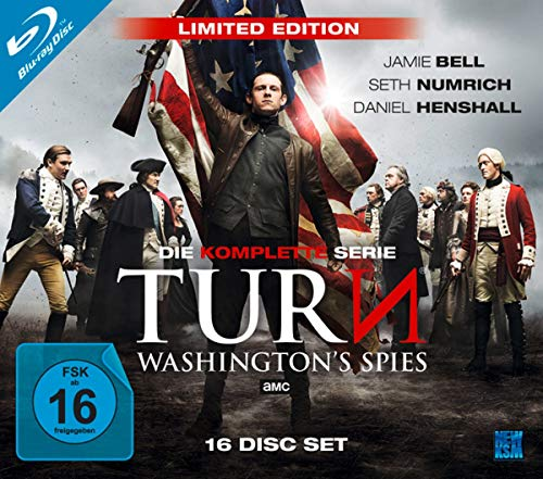 Turn - Washington's Spies: Die komplette Serie (Limited Edition) [Blu-ray]