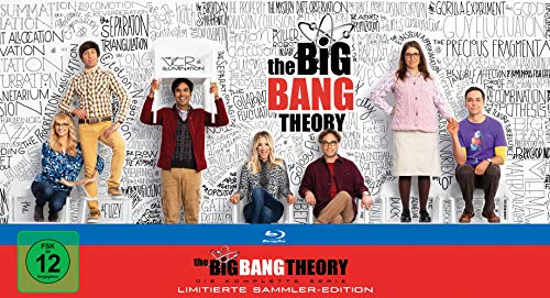 The Big Bang Theory Staffel  1-12 (Ultimate Collector's Edition) [Blu-ray]