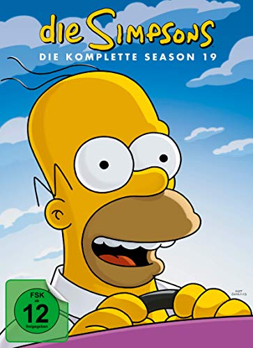 Die Simpsons Season 19 (4 DVDs)